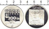 Изображение Монеты Европа Словакия 200 крон 2006 Серебро Proof
