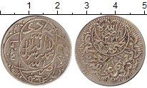 Изображение Монеты Азия Йемен 1/4 риала 1943 Серебро XF