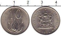 Изображение Монеты ЮАР 10 центов 1978 Медно-никель UNC-