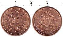 Изображение Монеты Барбадос 1 цент 1990 Бронза UNC-