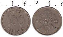 Изображение Монеты Южная Корея 100 вон 1990 Медно-никель XF