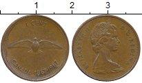 Изображение Монеты Северная Америка Канада 1 цент 1967 Бронза XF