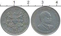 Изображение Монеты Африка Кения 50 центов 1980 Медно-никель XF