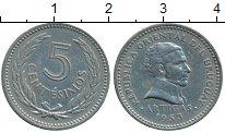 Изображение Монеты Южная Америка Уругвай 5 сентесим 1953 Медно-никель XF