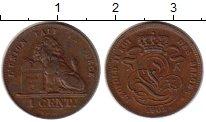 Изображение Монеты Бельгия 1 цент 1902 Бронза XF Лев