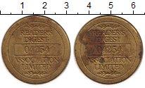 Изображение Монеты Европа Германия Жетон 0 Латунь XF-