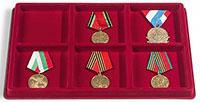 Изображение Аксессуары для монет Другие Пластиковый планшет на TAB 6 WR на 6 ячеек (348092) 0