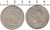 Изображение Монеты ЮАР 2 1/2 шиллинга 1944 Серебро VF