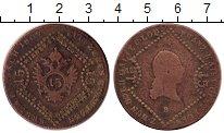 Изображение Монеты Европа Австрия 15 крейцеров 1807 Медь VF