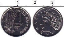 Изображение Монеты Южная Америка Бразилия 1 сентаво 1975 Медно-никель UNC