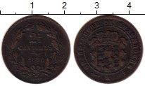 Изображение Монеты Европа Люксембург 2 1/2 сантима 1870 Бронза XF