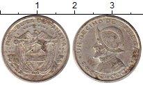 Изображение Монеты Северная Америка Панама 1/10 бальбоа 1961 Серебро VF