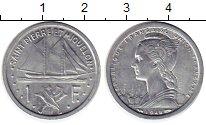 Изображение Монеты Африка Сен-Пьер и Микелон 1 франк 1948 Алюминий UNC-