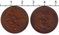 Изображение Монеты Азия Филиппины 1 сентаво 1944 Бронза VF