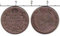 Изображение Монеты Канада 10 центов 1929 Серебро XF