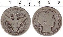 Изображение Монеты США 1/2 доллара 1902 Серебро VF