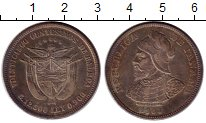 Изображение Монеты Северная Америка Панама 25 сентесимо 1904 Серебро UNC-