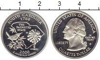 Изображение Монеты США 1/4 доллара 2000 Серебро Proof-