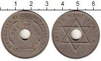 Изображение Монеты Западная Африка 1 пенни 1937 Медно-никель XF