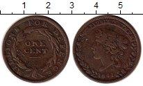 Изображение Монеты США 1 цент 1841 Медь XF-