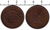 Изображение Монеты США 1 цент 1837 Медь XF-