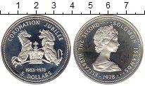 Изображение Монеты Австралия и Океания Соломоновы острова 5 долларов 1978 Серебро Proof
