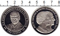 Изображение Монеты Сендвичевы острова 2 фунта 2017 Серебро Proof