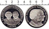 Изображение Монеты Фолклендские острова 1 крона 2017 Серебро Proof