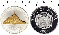 Изображение Монеты Австралия и Океания Науру 10 долларов 2006 Серебро UNC