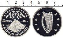 Изображение Монеты Ирландия 10 евро 2008 Серебро Proof Острова Скеллиг