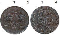 Изображение Монеты Европа Швеция 2 эре 1918 Железо XF