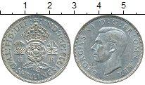 Изображение Монеты Европа Великобритания 2 шиллинга 1939 Серебро XF