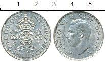 Изображение Монеты Европа Великобритания 2 шиллинга 1944 Серебро XF