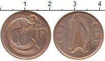 Изображение Монеты Ирландия 1 пенни 1995 Бронза UNC-