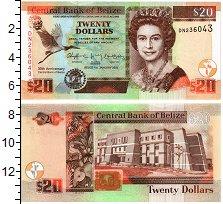 Изображение Банкноты Белиз 20 долларов 2012  UNC