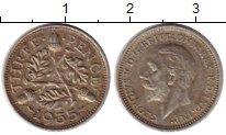 Изображение Монеты Европа Великобритания 3 пенса 1935 Серебро XF