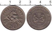Изображение Монеты Сингапур 50 центов 1986 Медно-никель XF