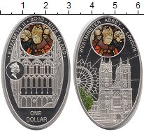 Изображение Монеты Новая Зеландия Ниуэ 1 доллар 2010 Серебро Proof