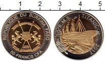 Изображение Монеты Буркина Фасо 50 франков 2017 Биметалл UNC