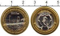 Изображение Мелочь Франция Антарктика - Французские территории 200 франков 2018 Биметалл UNC