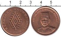 Изображение Монеты Бруней 1 сен 2005 Медно-никель UNC