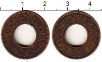 Изображение Монеты Индия 1 пайс 1943 Бронза VF Георг V