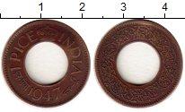 Изображение Монеты Индия 1 пайс 1947 Бронза  Георг VI