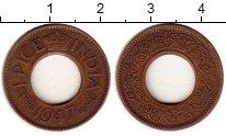 Изображение Монеты Азия Индия 1 пайс 1947 Бронза