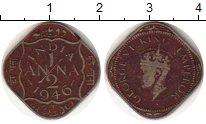 Изображение Монеты Индия 1/2 анны 1946 Медно-никель