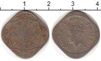 Изображение Монеты Индия 1/2 анны 1946 Медно-никель  Георг VI