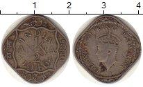 Изображение Монеты Индия 1/2 анны 1946 Медно-никель VF Георг VI