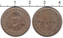 Изображение Монеты Никарагуа 10 сентаво 1965 Медно-никель XF