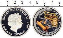 Изображение Монеты Австралия и Океания Тувалу 1 доллар 2013 Серебро Proof