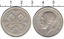 Изображение Монеты Европа Великобритания 1 флорин 1931 Серебро VF